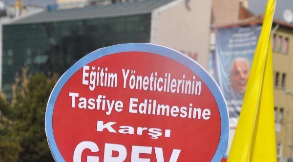 Kırıkkale'de Eğitimciler Hükümeti İstifaya Çağirdi