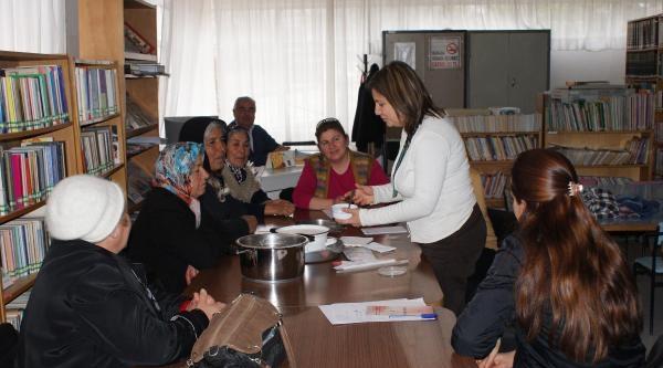 Kırıkkale'de Kadın Çiftçilere Peynir Ve Yoğurt Yapma Eğitimi