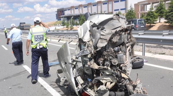 Kırıkkale'de Kaza: 5 Yaralı