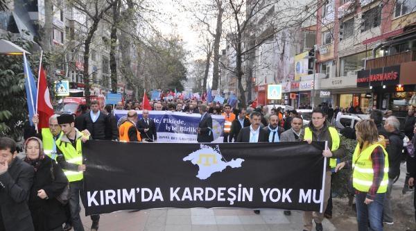 Kırım'a Kocaeli'den Destek Yürüyüşü