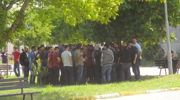 Kırklareli Üniversitesi'nde Kavgası: 2 Yaralı (2)
