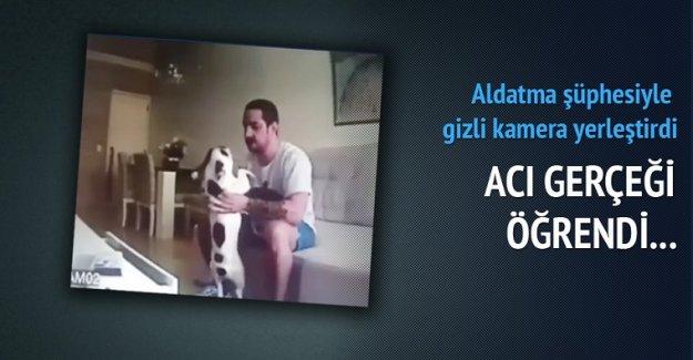 Kız arkadaşının köpeğine işkence yaptı