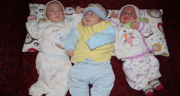 Kız bebek beklerken üçüz erkekleri oldu!