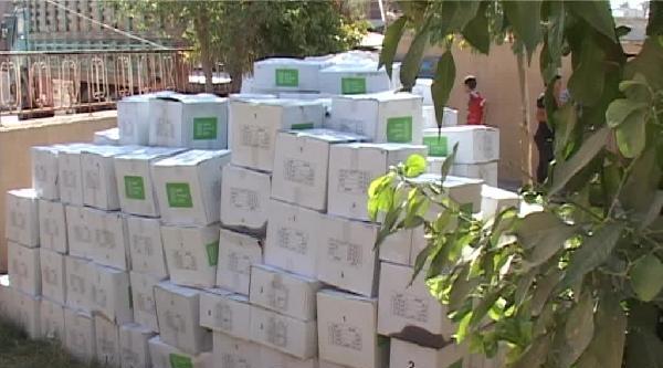 Kızılay, Tuzhurmatu'da Yardım Dağıttı