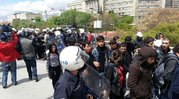 Kızılay'a Yürümek İsteyen Gruba Polis Müdahalesi / Ek Fotoğraflar