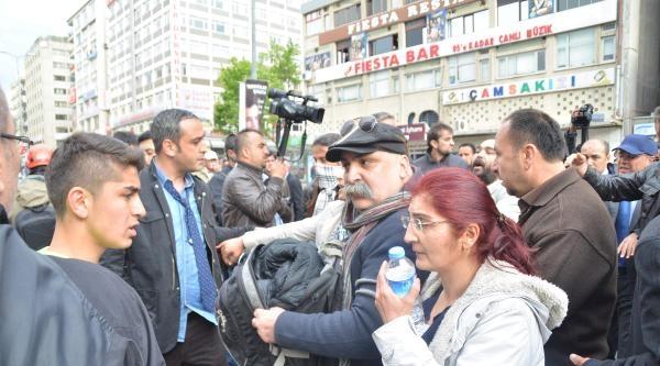 Kızılay'da Polisle Eylemciler Arasında Arbede