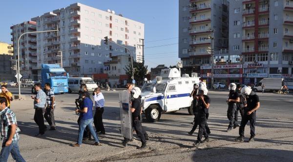 Kızıltepe'de Olaylı Lice Protestosu