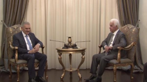Kktc Cumhurbaşkanı Eroğlu, Binali Yıldırım'ı Kabul Etti