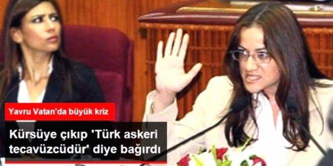 Meclis'de Kürsüye Çıktı 'Türk Askeri Tecavüzcü' Dedi!