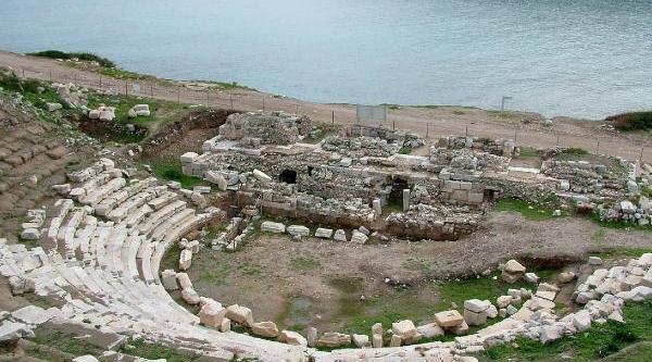 Knidos Antik Tiyatrosu Restore Edilecek