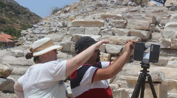 Knidos'un Antik Tiyatrosunda Restorasyon Başladı