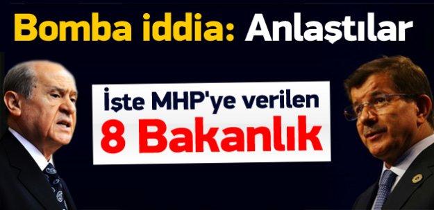 Koalisyon tamam! İşte MHP'ye verilen 8 bakanlık
