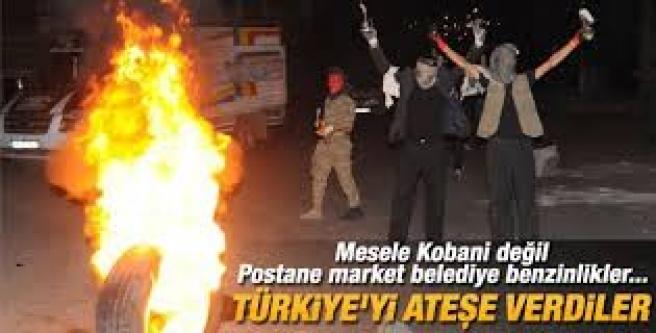 Kobani eylemlerinin asıl amacı bakın neymiş?