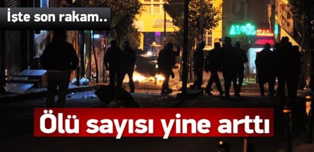 Kobani gösterilerinde ölü sayısı 39'a çıktı