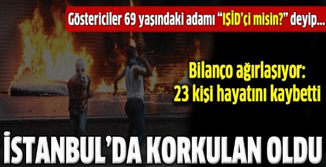 Kobani protestolarının bilançosu ağır oldu