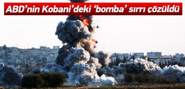 Kobani'deki nokta atışın sırrı çözüldü