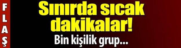 Kobani'ye gitmek isteyenlere biber gazlı müdahale!