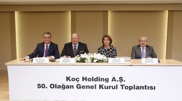 Koç Holding'in 50. Olağan Genel Kurulu Gerçekleşti