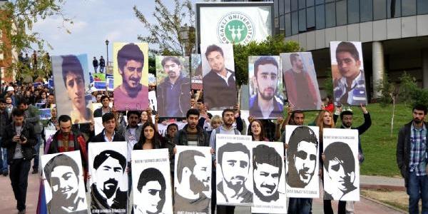 Kocaeli Üniversitesi'ndeki Yök Protestosunda Güvenlikçilerle Öğrenciler Birbirine Girdi (1)