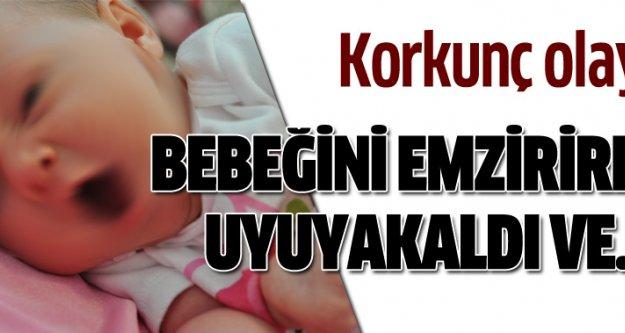 Kocaeli'nde şok olay! 1 aylık bebek boğularak öldü