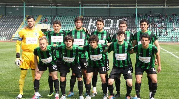 Kocaelispor-menemen Belediyespor: 0-1