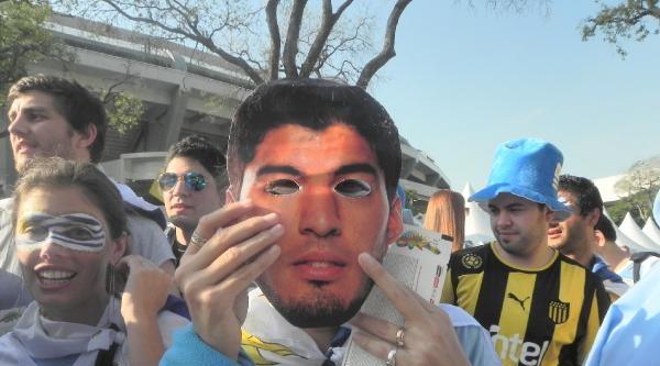 Kolombiya - Uruguay Maçından Taraftar Görüntüleri