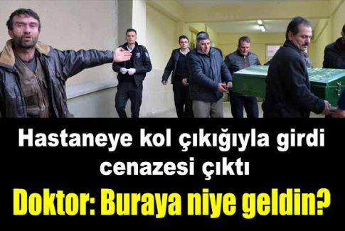 Kolu çıkan Ebru'nun gittiği hastaneden cenazesi çıktı