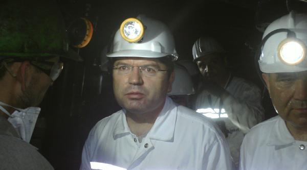 Komisyon Üyeleri Madene Girdi, İnceleme Yaptı