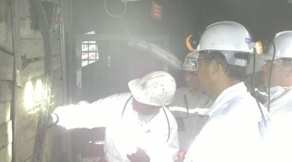 Komisyon Üyeleri Madene Girdi, İnceleme Yaptı (ek Fotoğraf)