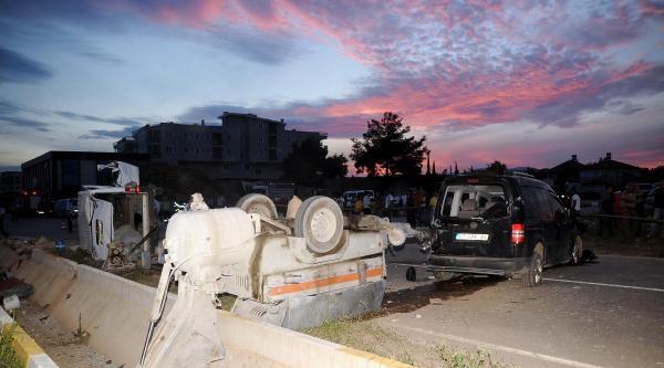 Kontrolsüz Kavşakta Kaza: 1 Ölü, 7 Yaralı