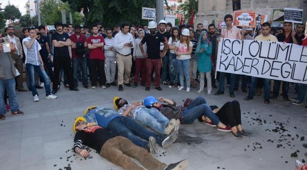 Konya Ve Aksaray'da Soma Eylemi (2)