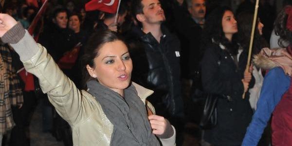 Konya'da 10 Kasim Yürüyüşü