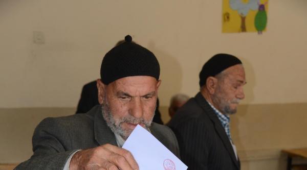 Konya'da 7 Mahallede Muhtarlık Seçimi Yapılıyor
