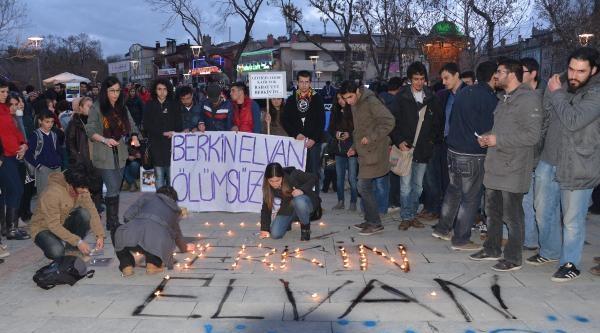 Konya'da Berkin Protestosu
