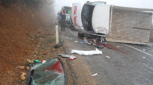 Konya'da Buzlanma Kazalari: 1 Ölü, 4 Yarali