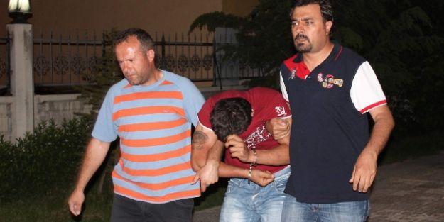 Konya'da Evden Hırsızlık Şüphelisi 3 Kişi Yakalandı