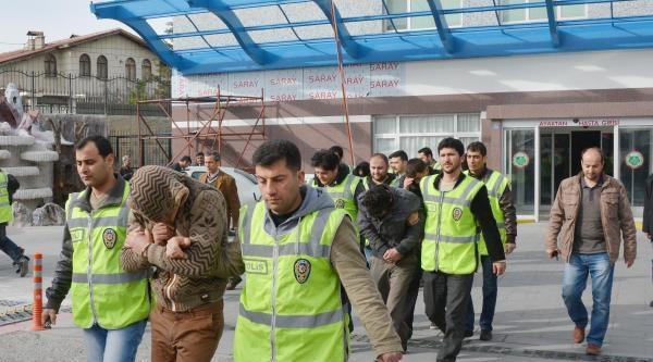 Konya'da Hırsızlık Operasyonu: 6 Gözaltı