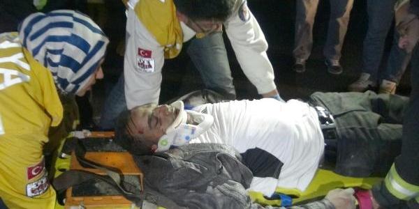 Konya'da Kaza: 1 Ağir Yarali