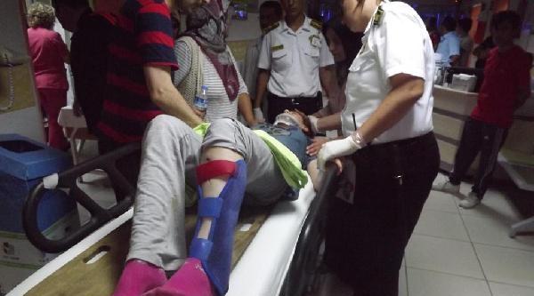 Konya'da Piknik Dönüşü Kaza: 8 Yaralı