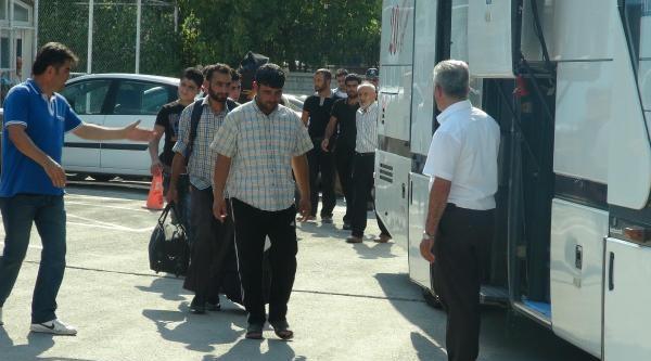 Konya'da Suça Karışan 40 Suriyeli Kampa Gönderildi