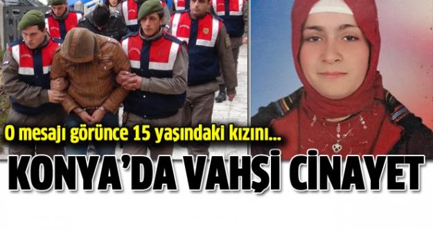 Konya'da Vahşi Cinayet!