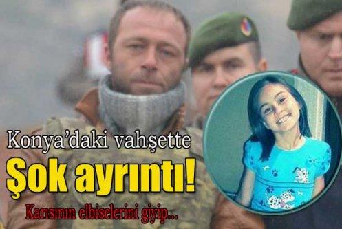 Konya'daki vahşette şok ayrıntı