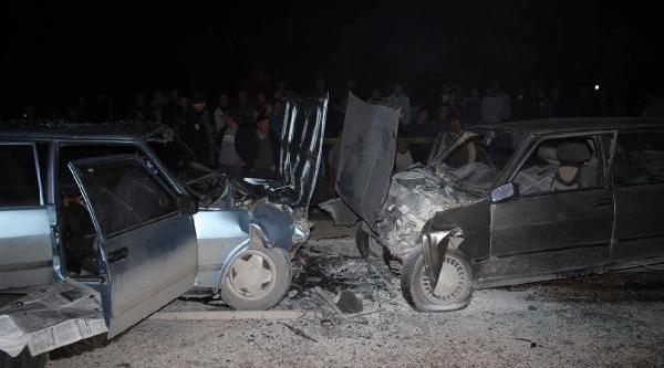 Korkuteli'De Kaza: 3 Ölü, 5 Yarali