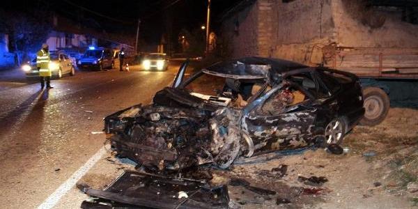 Korkuteli'nde Katliam Gibi Trafik Kazasi: 4 Ölü, 4 Yarali