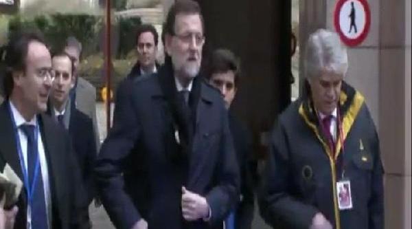Koruma Ispanya Başbakanini Tanimadi