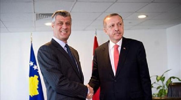 Kosova Başbakanı Haşim Taçi'den Erdoğan'a Kutlama