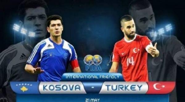 Kosova - Türkiye Maçının Afişi Basına Sunuldu