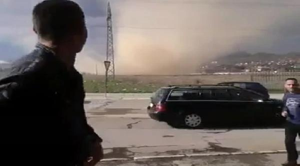 Kosova'da Hortum Paniğe Yol Açtı