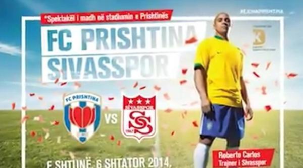 Kosova'da, Sivasspor İle Oynanacak Dostluk Maçının Heyecanı Yaşanıyor