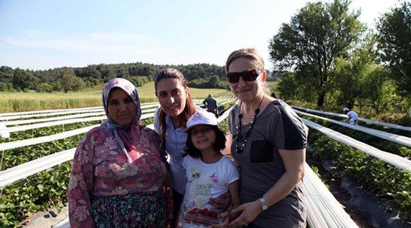 Köyde Yaşam Ve Tarımsal Üretimi Öğrendiler